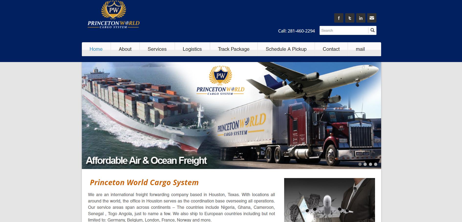 Princeton World Cargo